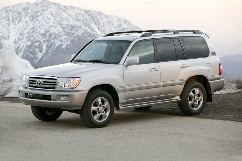 2007 Toyota Land Cruiser Exterior Photo