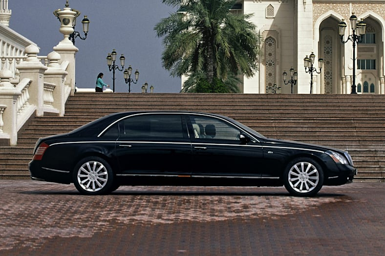 2008 Maybach 62 Exterior Photo