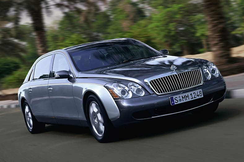 2009 Maybach 62 Exterior Photo