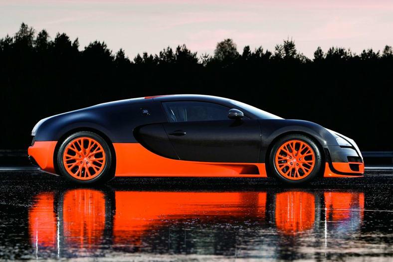 2011 Bugatti Veyron Exterior Photo