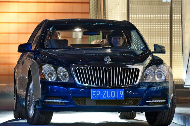 2012 Maybach 57 Exterior Photo