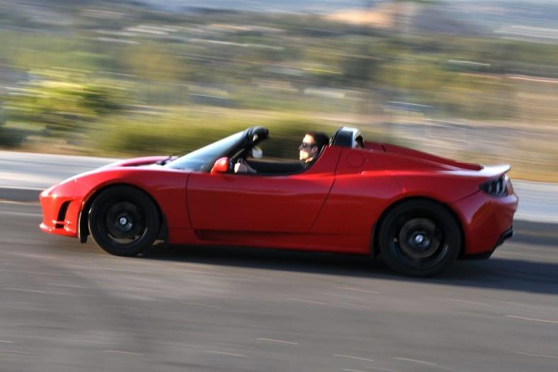 2011 Tesla Roadster Exterior Photo