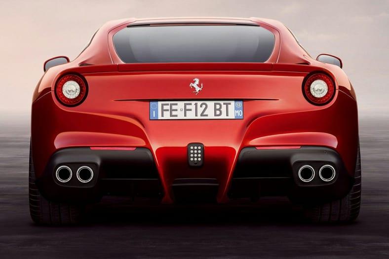 2013 Ferrari F12berlinetta Exterior Photo