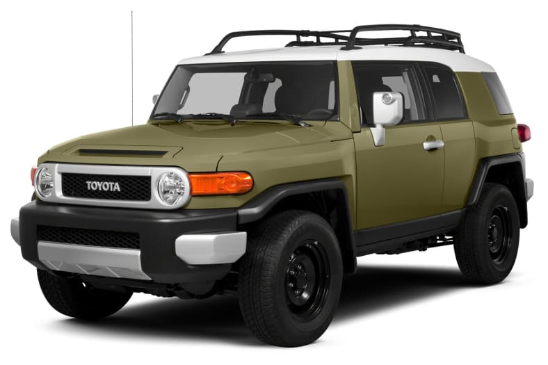 2013 Toyota FJ Cruiser Exterior Photo
