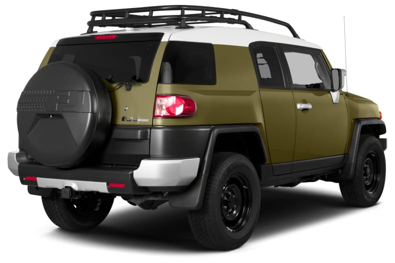 2014 Toyota FJ Cruiser Exterior Photo