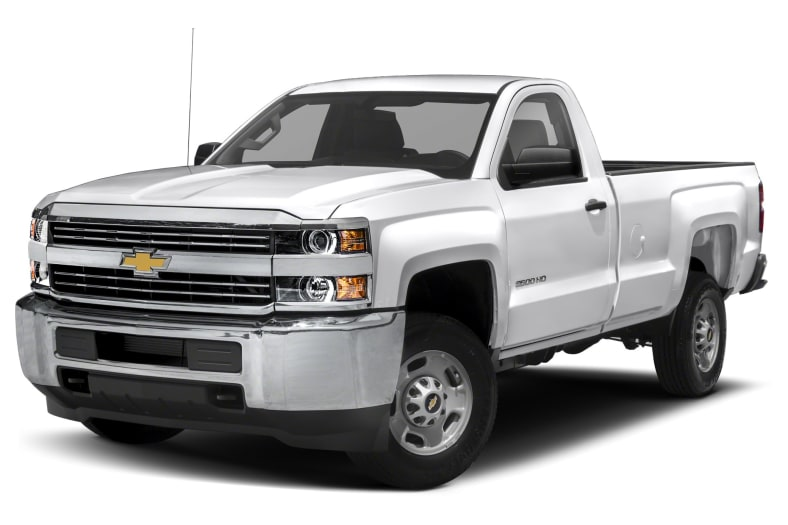 2015 Chevrolet Silverado 2500HD Exterior Photo