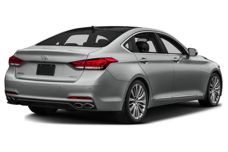 2016 Hyundai Genesis 38 4dr Rearwheel Drive Sedan Pictures