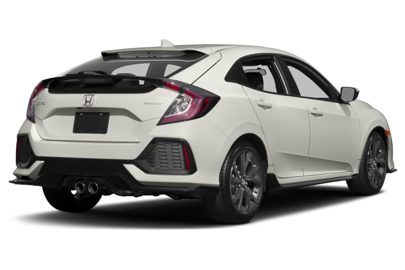 2017 Honda Civic Sport 4dr Hatchback Pictures