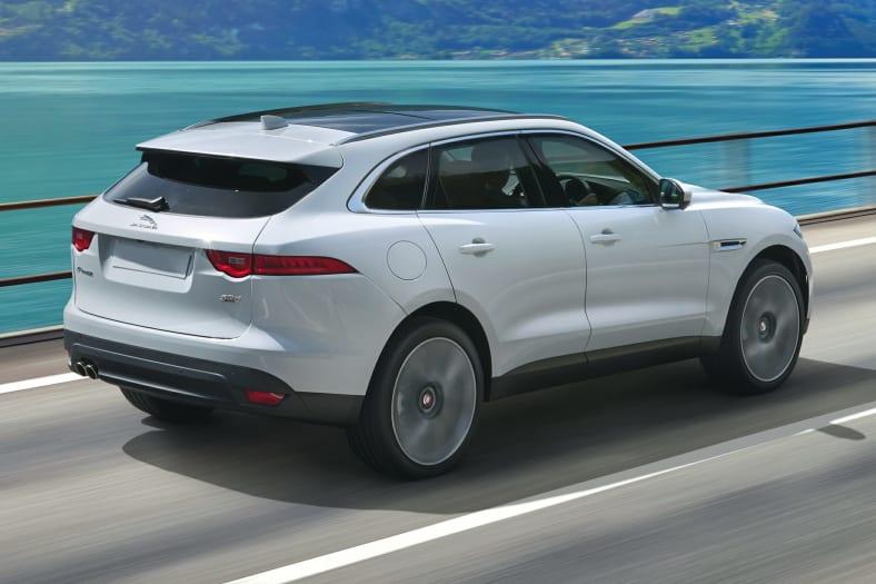 2017 Jaguar F Pace 20d Prestige All Wheel Drive Pictures
