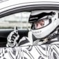 Mercedes-AMG C63 Coupe teaser driver