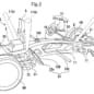 Honda mid-engine car patent drawing