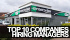 Top 10 Companies Hiring Managers This Week