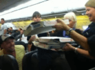 Pilot Buys Pizzas For Passengers Grounded By Storm