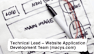 Job Descriptions Decoded: Technical Lead - Website Application Development Team