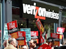 Verizon Strike Boosts Unemployment Aid Requests