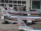 American Airlines Workers Protest Job, Pay Cuts