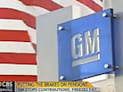GM Plans To Freeze Salaried Workers' Pensions