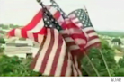Senior Risks Eviction Over American Flag Display