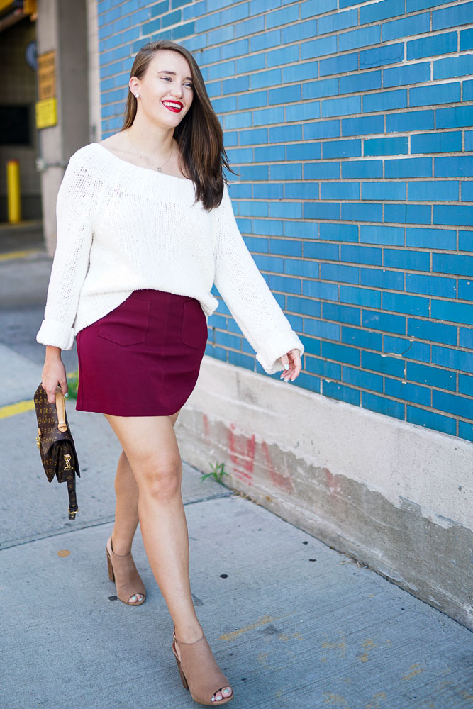 Street style tip of the day: Skirts up