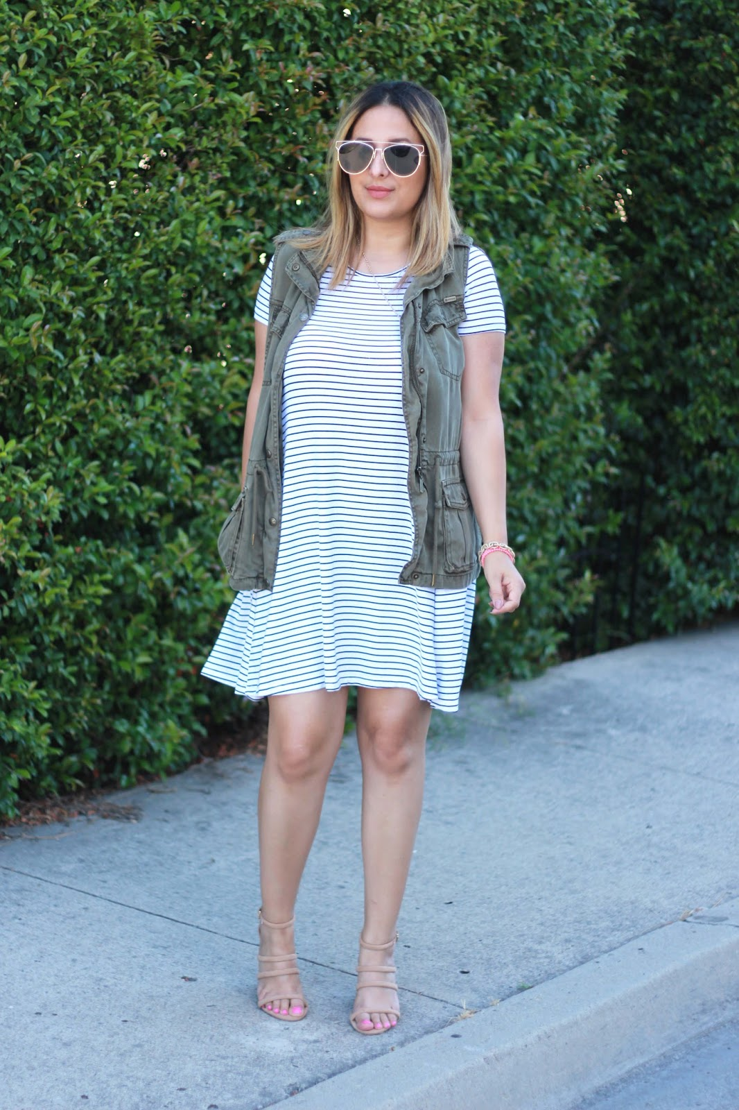 Street style tip of the day: Swing dresses and summer