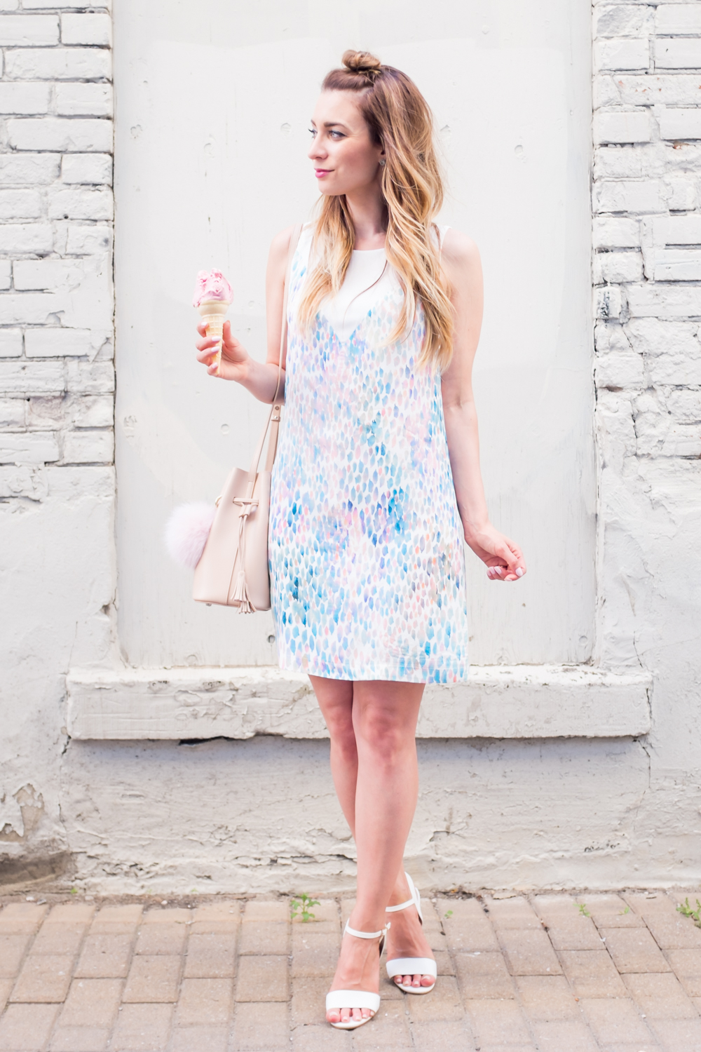 Street style tip of the day: Pretty pastels