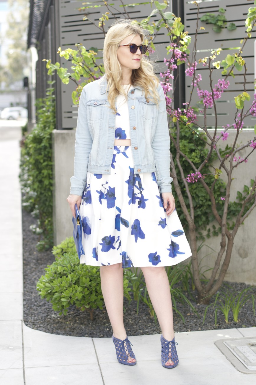 Street style tip of the day: Two-piece florals