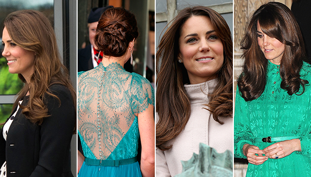Kate Middleton Named Britain's Hair Icon in New Survey