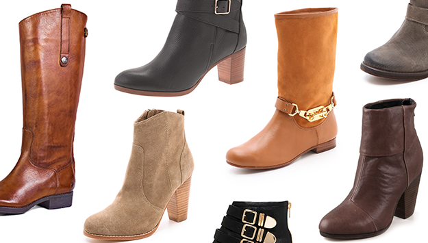9 pairs of fall boots you'll want to buy right now