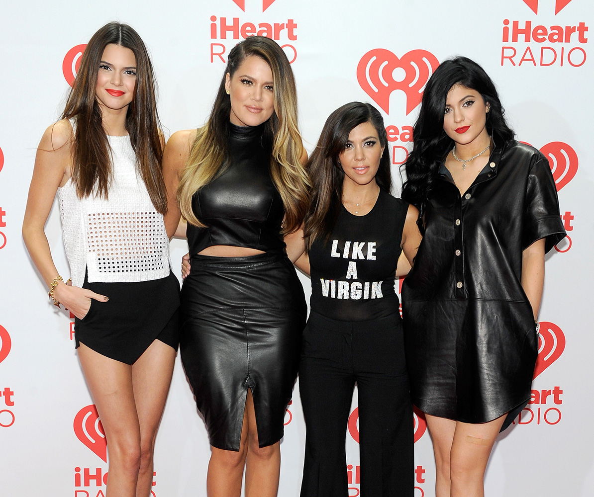 The Kardashian sisters re-emerge and look more gorgeous than ever