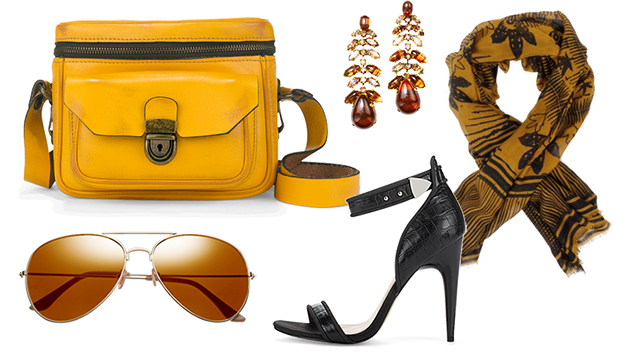 Trend alert: Mustard, gold and black