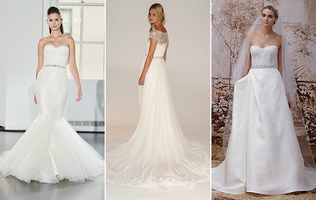 Seriously stunning wedding dresses from the fall 2014 bridal shows