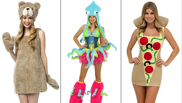 Are these supposedly sexy halloween costumes really just silly?