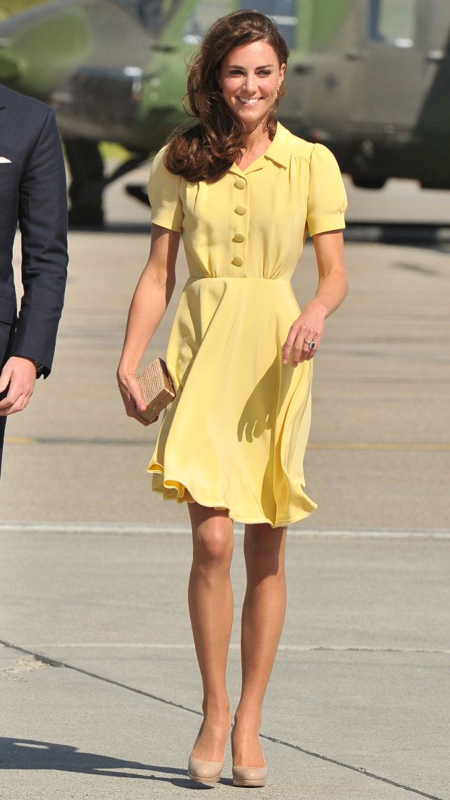 The Queen thinks Duchess Kate should wear longer skirts (and more jewels!)