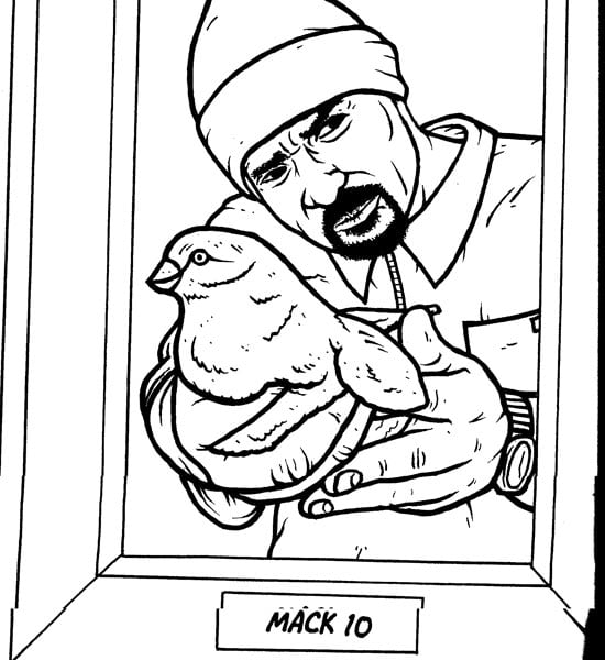 Gangster Couples Coloring Coloring Pages