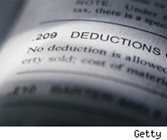 how to add deductions on taxes ato