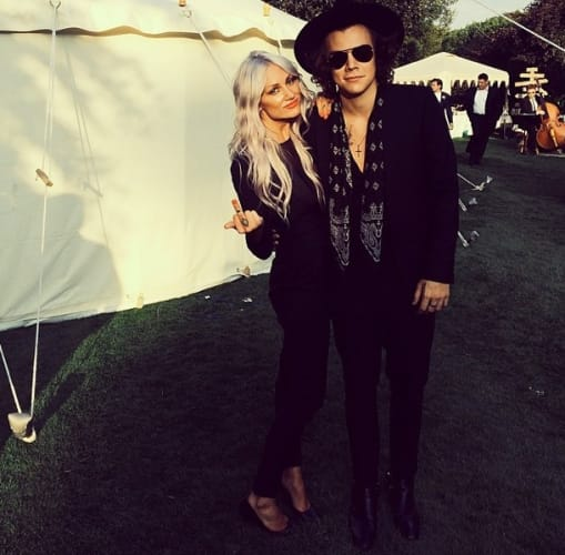 Charming Harry styles and paige reifler can