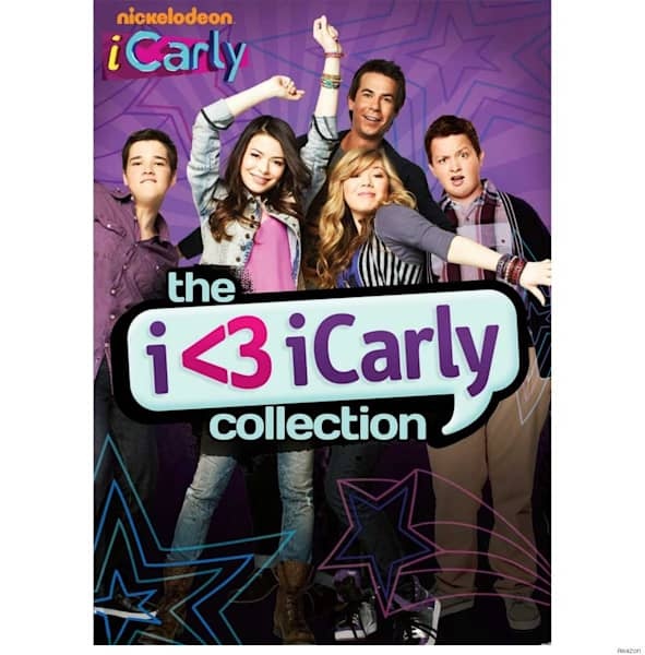 Victorious big time rush and icarly dvd sets