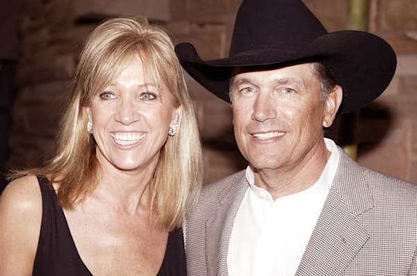 George Strait with beautiful, Wife Norma Voss