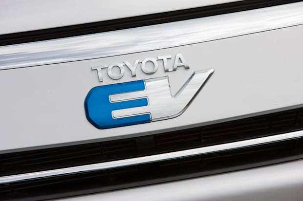 Rear EV badge on 2012 Rav4 Electric