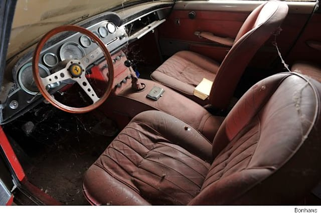 Barn find Ferrari for sale at Bonhams
