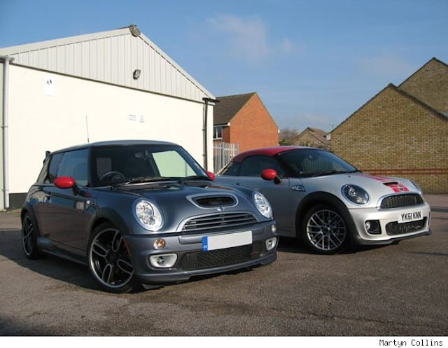 MINI GP vs JCW Coupe comparison