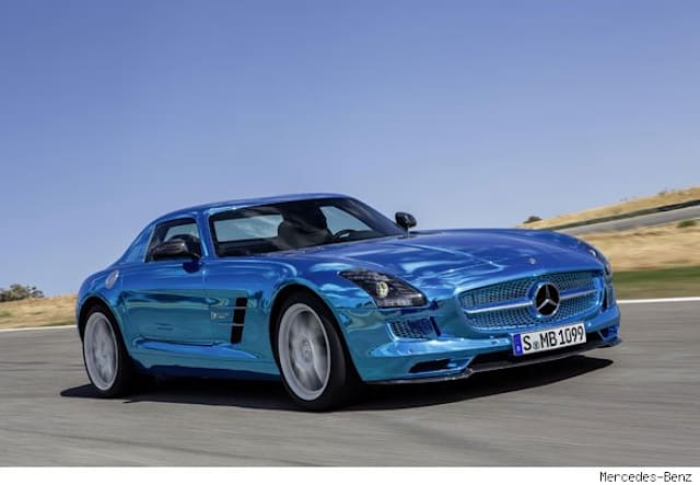 Electric Mercedes-Benzes