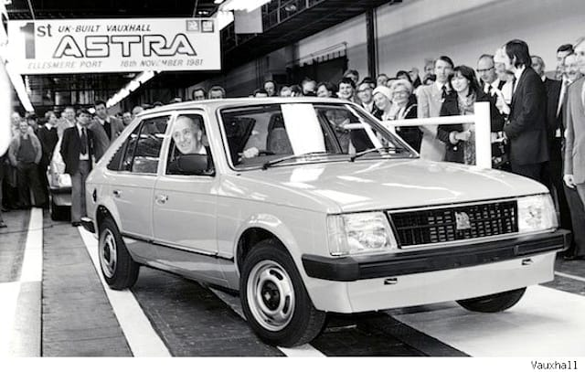 31 years of the Vauxhall Astra