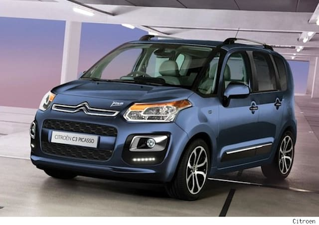 Citroen C3 Picasso styling tweaks