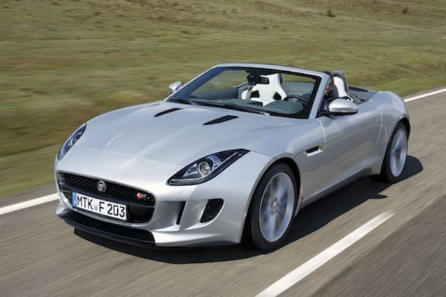Latest Jaguar F-Type images