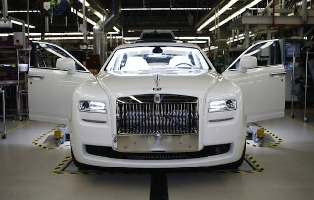 Inside the Rolls-Royce factory