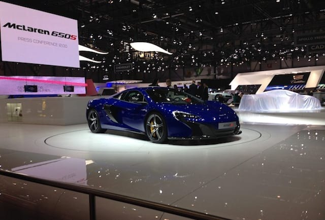Top ten cars of the Geneva motor show 2014