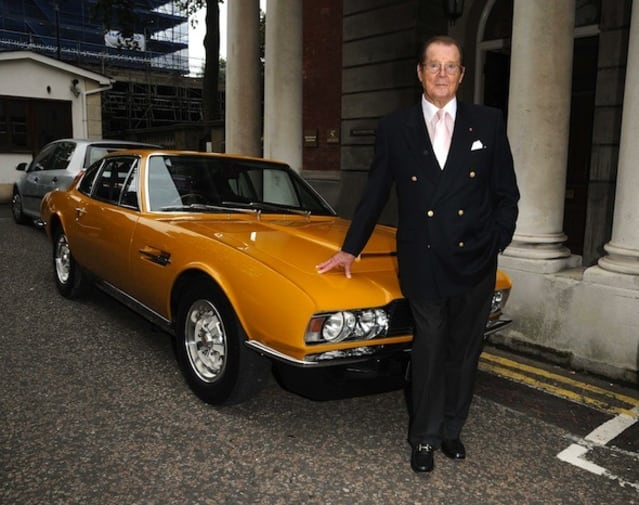 The Persuaders Aston Martin DBS