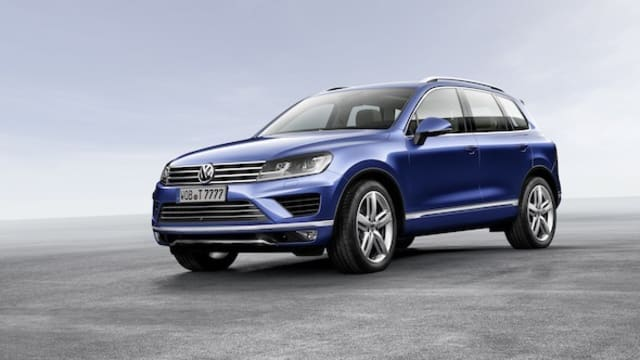 Refreshed Volkswagen Touareg