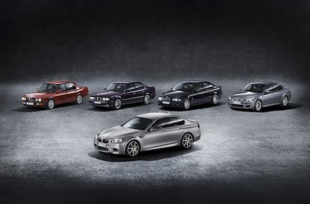 BMW M5 30 Years edition